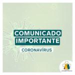 Comunicado importante – Covid-19